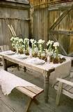 Rustic Garden Party | Most Popular Pins