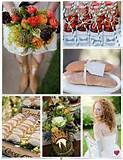 images of rustic organic garden wedding ideas inspiration board ...