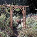 Rustic Natural Cedar Westport Arbor - Outdoor Living - Outdoor Decor ...