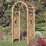 Rustic Natural Cedar Window Arbor - Outdoor Living - Outdoor Decor ...