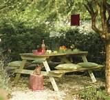 diy rustic garden bench