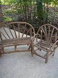 primitive vintage chair love seat doll furniture garden decor bear