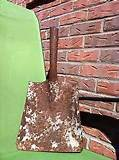 vintage rusty rustic shovel tool primitive farm barn garden decor folk