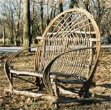 making rustic garden furniture
