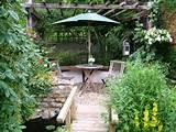 Garden landscaping ideas > Services > Small gardens