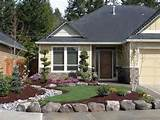 front yard landscape ideas pictures