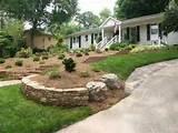 front yard garden designs landscaping photos