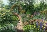 landscape designs english garden designs and simple garden designs