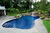 inground swimming pool landscaping design ideas pictures nj
