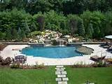 Pool landscape adds natural beauty of the pool. Keep in mind that the ...