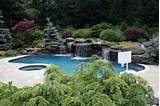 swimming pool landscaping ideas inground above ground backyard