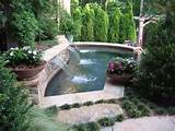 backyard designs with pools | landscape ideas and pictures
