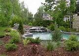 pool landscaping designs landscape ideas and pictures