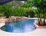 pool landscaping ideas 300x234 modern swimming pool landscaping ideas