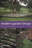 to enlarge this book cover of modern garden design by janet waymark