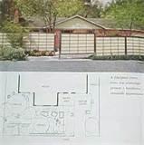 1963 mid century modern landscaping garden patio design plans ebay