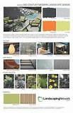Landscape Design SheetMid-Century Modern,