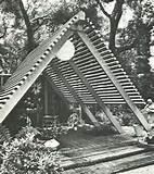 vintage mid century modern garden patio design build book 1969