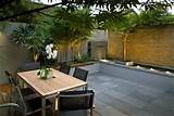 Small courtyard garden design London
