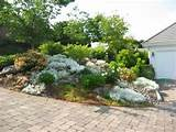 designs landscape designing plans modern driveway and rock garden