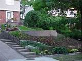 Sloped garden ideas landscaping