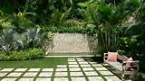 Large Tropical Modern Garden Highland Landscaping - ArchInspire