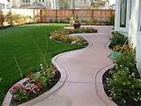 Sample :  some pictures of the  backyard landscaping ideas