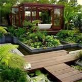 plushemisphere modern garden design