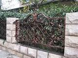 garden fence design ideas metal garden fence design ideas home garden