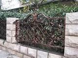 Garden fence design ideas metal garden fence design ideas home Garden ...