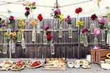 cheap and creative garden wedding decoration ideas colorful