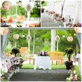 decorations for a garden wedding source stagetecture com