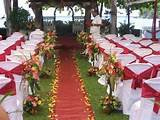Decor ideas for a garden wedding