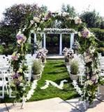 Garden Wedding Decoration Flowers