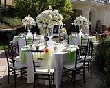 Garden Weddings Reception Decorating Idea | Home Design Gallery