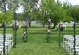 outdoor wedding aisle ideas wedding decor