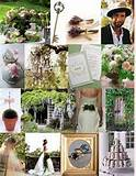 Perfect Day Planner: Ideas for a garden wedding decor