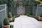 Garden landscaping ideas > Services > Small gardens