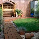 with decked path small garden design ideas housetohome co uk