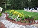 Design ideas for backyard flower garden, a simple variation of ...