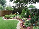 Backyard flower garden | Backyard Ideas