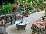 Patio Backyard Garden Flower Ideas - Best Patio Design Ideas Gallery