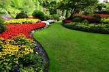 Flower Beds In Formal Garden Royalty Free Stock Photo, Pictures ...
