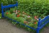 container garden bedframe garden ideas for next spring before winter