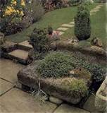 tlc home trough rock garden ideas