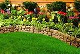 stone garden edging ideas