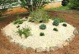 an easy raised rock garden