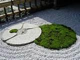 japanese rock garden pictures yin yang mossy karesansui creating