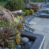 River Rock Garden Design, Pictures, Remodel, Decor and Ideas