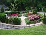 Yard Design Ideas, Front Yard Design With River Rock Landscaping